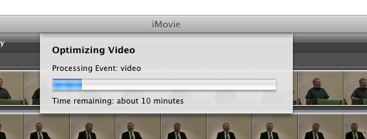 Immovable iMovie