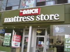 Brick mattress store