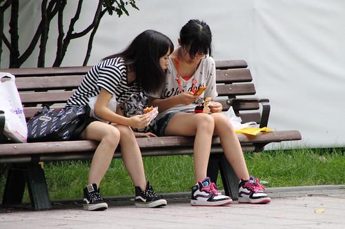 Mobilephone girl.