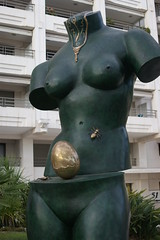 Cannes - France (Rovers number 9) Tags: france boobs cannes 2010 bigtits minoltabeercan minolta3570mmf4macro yahoo:yourpictures=sculptures steeltits