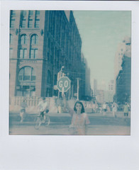 Summer Streets (Impossible Project) Tags: nyc sx70 summerstreets impossibleproject px70film