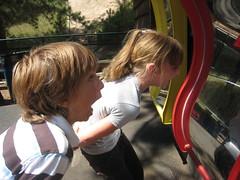 Funhouse Mirror (Hatchibombotar) Tags: luke arianna santasworkshop