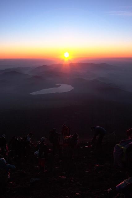 at Mt Fuji