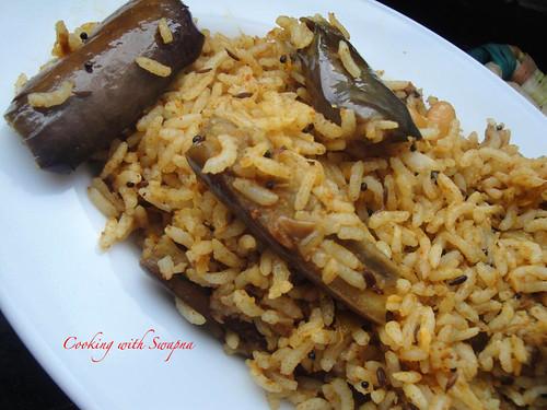 Brinjal rice 3