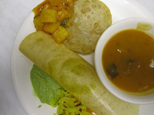 Slightly Peckish: Indian breakfast 1