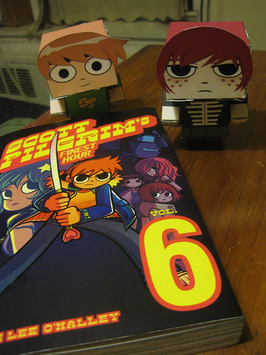 Scott Pilgrim 6 and Cubecrafts