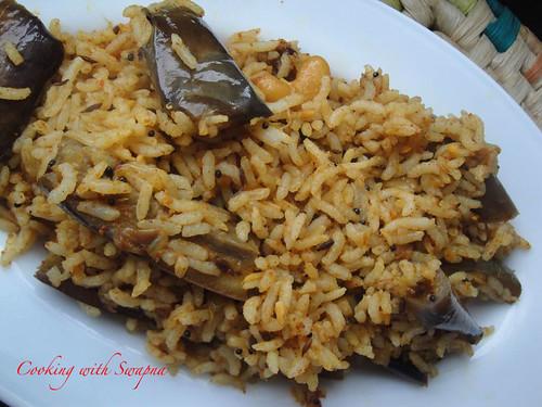 Brinjal rice 2
