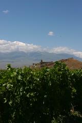 Le mont Ararat dominant le monastre de Khor Virap (cjegu) Tags: armenia ararat armnie khorvirap