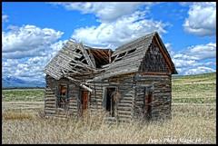 HDR #709 - Old Log House
