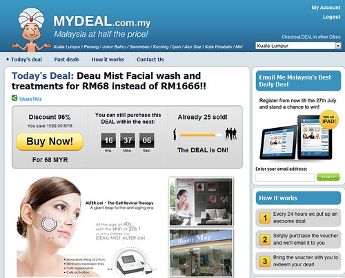 mydeal on facial wash