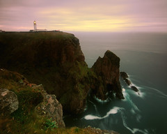 At Scotland's Edge - Cape Wrath lighthouse, Sutherland, Scotland (iancowe) Tags: lighthouse robert sunrise dawn scotland northwest scottish cliffs stevenson cape sutherland wrath wbnawgbsct
