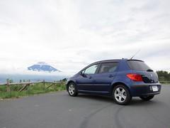 Mt.Fuji & Peugeot 307