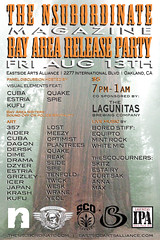 (funkandjazz) Tags: magazine releaseparty flier thensubordinate