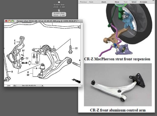 Aluminum Insight Suspension Components