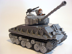 M4A3E8 Sherman (. soop) Tags: world two war tank lego mr 8 ww2 easy sherman soop m4a3e8