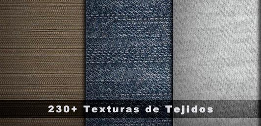 230+ Texturas de tejidos