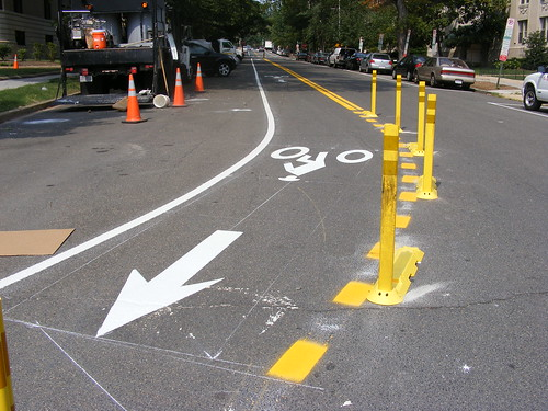 Contraflow Bike Lane