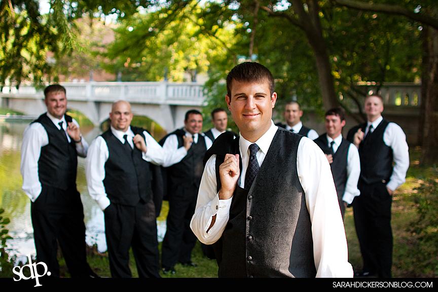 Emporia, Kansas wedding photos