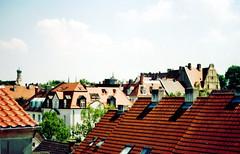 Augsburg (lenavorona) Tags: summer germany roofs augsburg