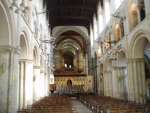 Nave, Rochester Cathedral