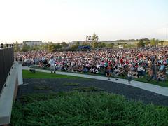 Redlin crowd