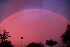 Rainbow after the storm - Arcoiris despues de la tormenta (fginebrosa) Tags: arcoiris rainbow tormenta lightning rayo electrica relampago lightstorm