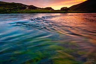 daybreak at the riverside