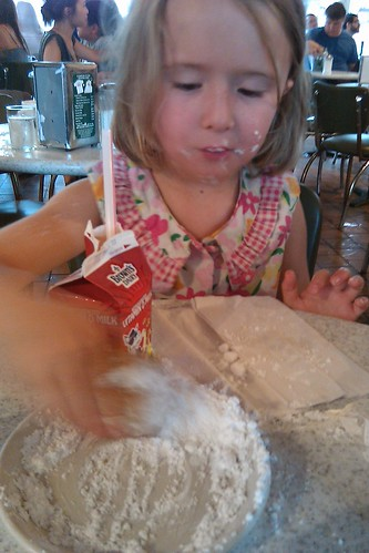 C's First Beignet