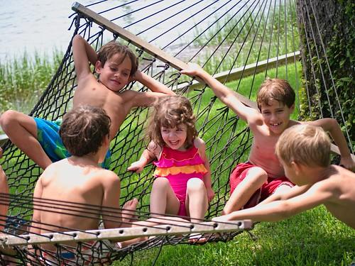 Crowded hammock
