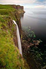 Kilt Rock - Isle of Skye (Fab. B) Tags: skye rock pose island scotland waterfall kilt cascade isle fabien longue bravin