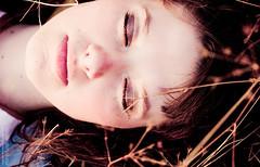 _MG_4141 (nich_ya) Tags: portrait girl face hard august genre  sweetface cigarettesmoke    inthegrass         brutalface thegirlinthegrass
