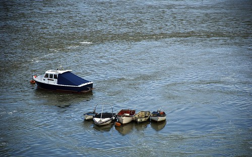 Boats On The River Conwy