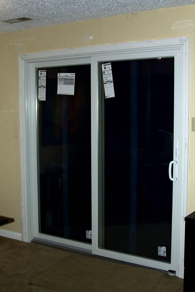 117/365 - New Sliding Glass Door