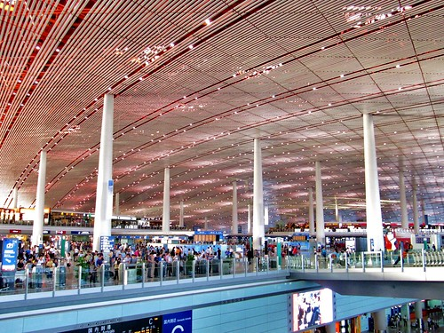 Beijing Airport Roof