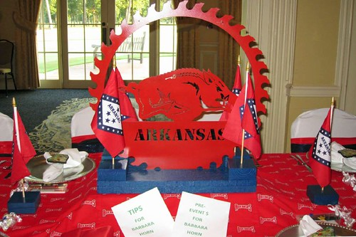 Razorbacks Table