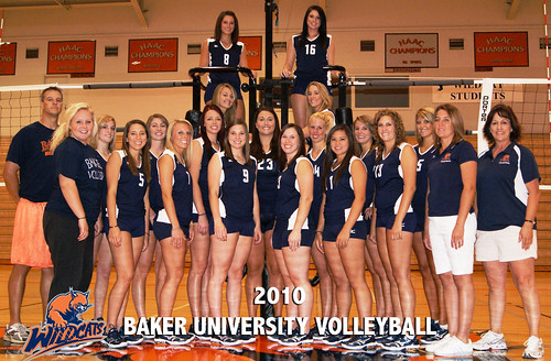 Baker Volleyball 2010