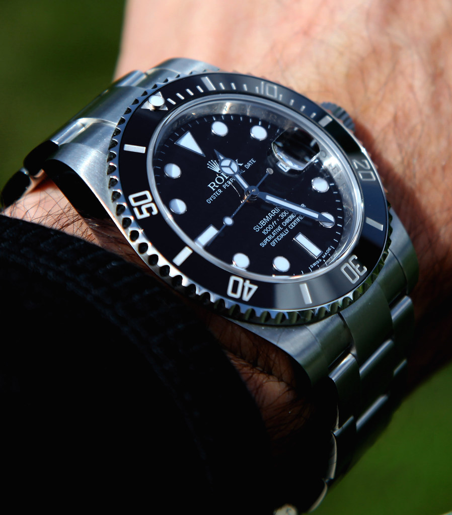 submariner wristshots please