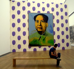 mao and dani (lanipo) Tags: warhol colori cina berlino maotsetung hanburgerbahnhof