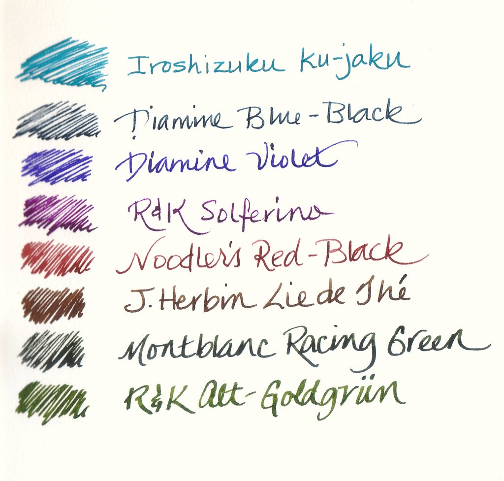 A Simple Fountain Pen Ink Rotation