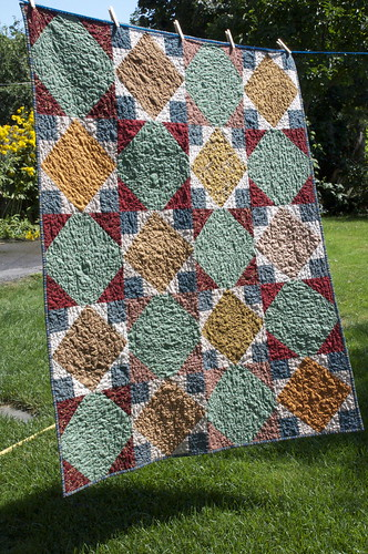 Manly quilt
