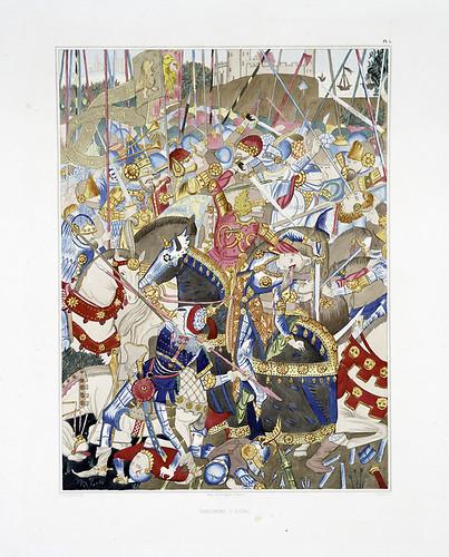012-Tapiceria de Aulhac-Les anciennes tapisseries historiées…1838- Achille Jubinal
