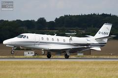 G-LEAX - 560-5712 - Private - Cessna 560XLS Citation Excel - Luton - 100811 - Steven Gray - IMG_1376