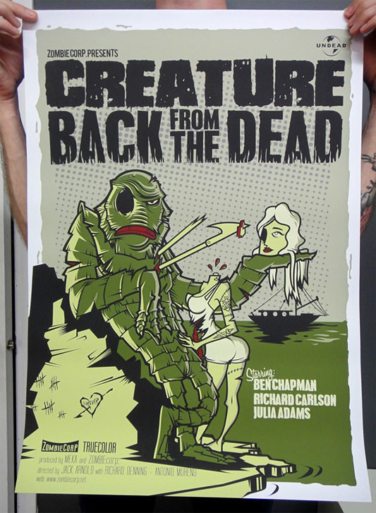 ZOMBIERrcorp - Creature black from the dead