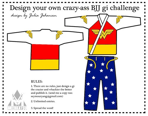 I designed a BJJ gi! 4 even!