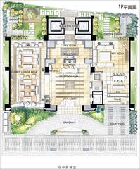 黃金新象:一樓公設圖