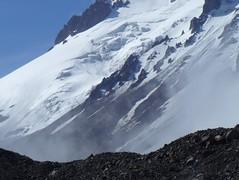 summertime (pite) Tags: mountain snow georgia peak caucasus steep kazbegi