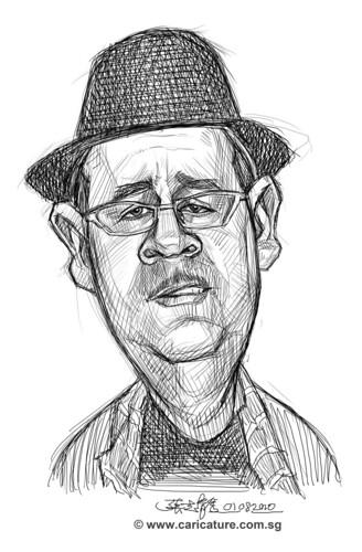 Schoolism - Assignment 1 - Sketch of Dave 3