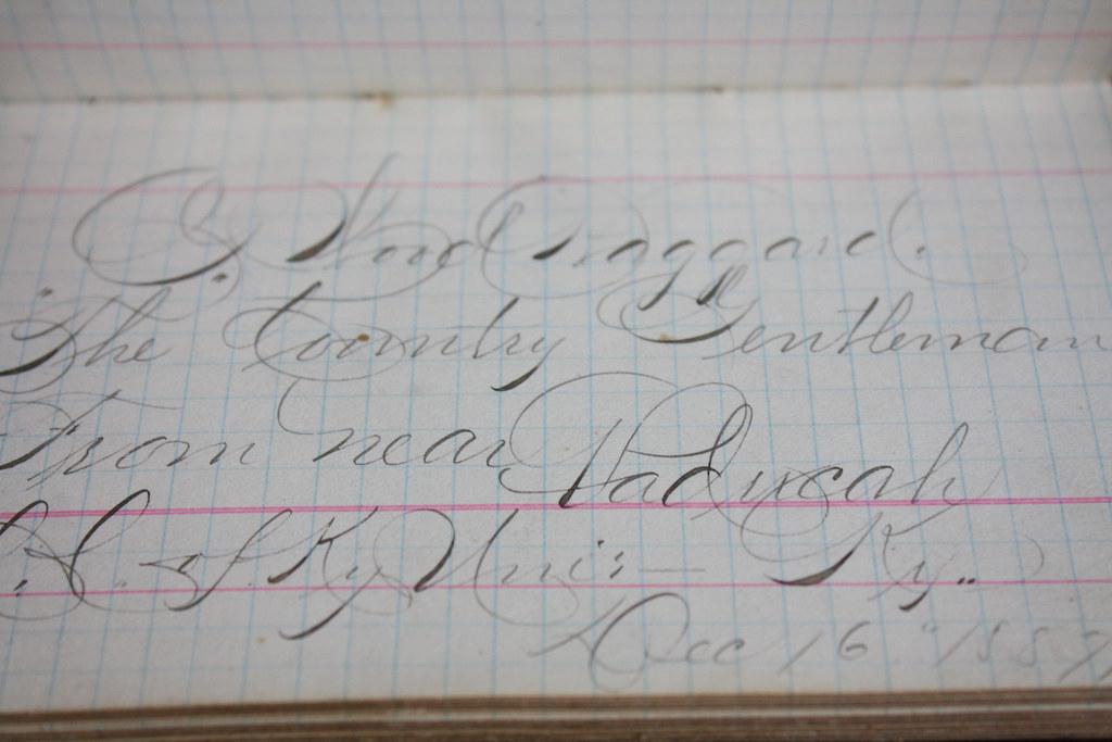 victorian school autograph book