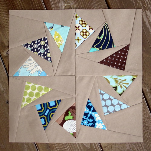 Circle of Geese Block for Kendra