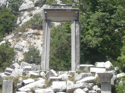 P1040935 Termessos, porte d'Hadrien